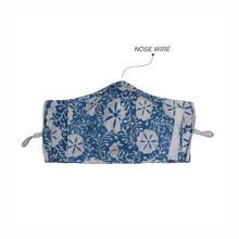 Load image into Gallery viewer, Gili Collection Batik Face Covering - Snow