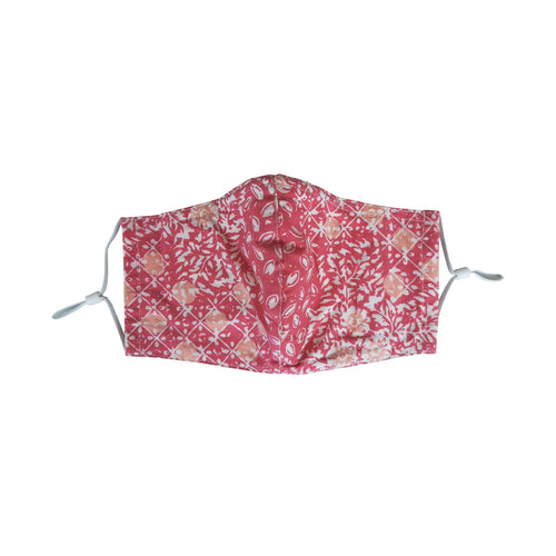 Gili Collection Batik Face Covering - Wildflower