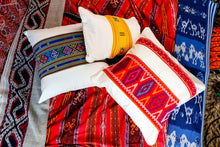 Load image into Gallery viewer, Ikat Blanket Throw, Red from Jepara, Indonesia