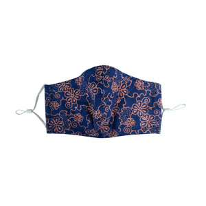 Gili Collection Batik Face Covering - Mangosteen