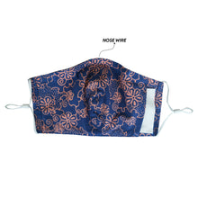Load image into Gallery viewer, Gili Collection Batik Face Covering - Mangosteen