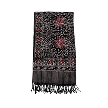 Load image into Gallery viewer, Batik Scarf - Dobby Fabric - Star