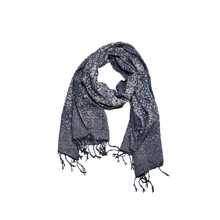 Load image into Gallery viewer, Batik Scarf - Dobby Fabric - Stone