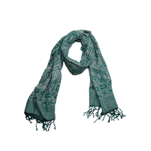 Load image into Gallery viewer, Batik Scarf - Dobby Fabric - Royalty