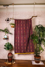 Load image into Gallery viewer, Ikat Blanket Throw, Red from East Nusa Tenggara, Indonesia