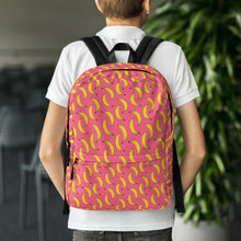 Load image into Gallery viewer, All over print back pack - Banana