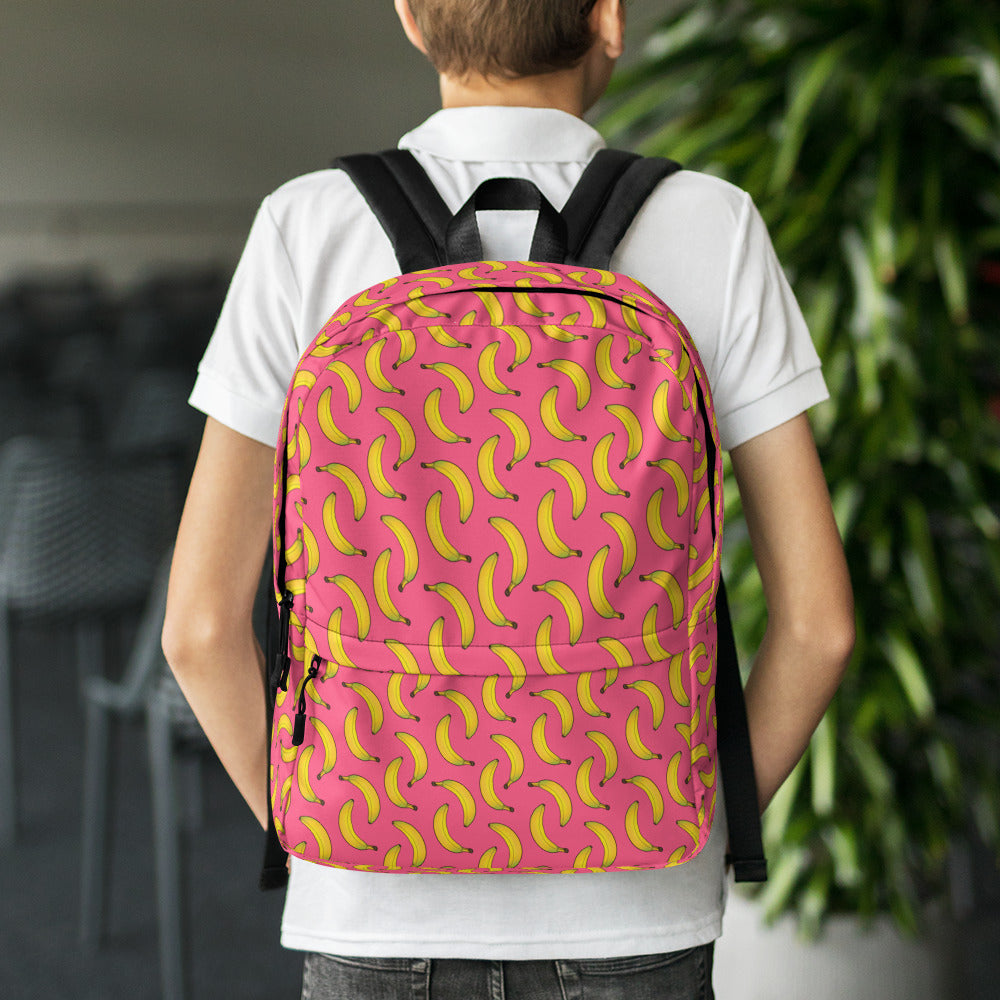 All over print back pack - Banana
