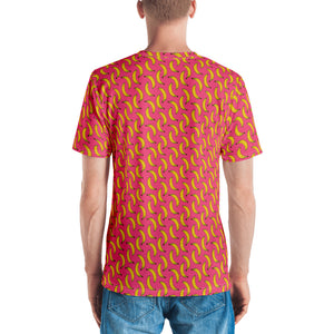 All over print shirt for men - Banana
