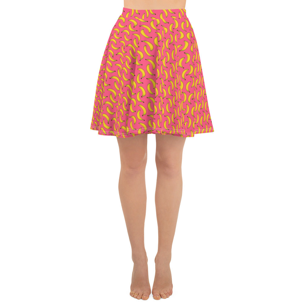 All over print skirt - Banana