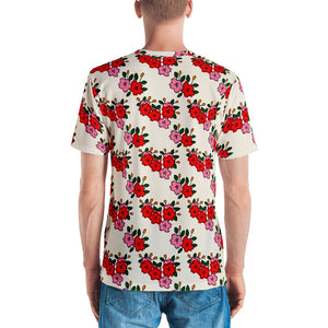 All over print shirt for men - Hanafuda