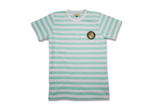 Stripped T-shirt (Frozen Mint)