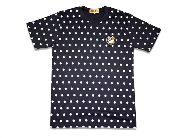 Polka Dot T-shirt (Night Life)
