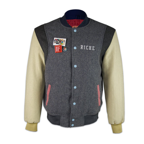 "Riche Threads ""GRAY WOLF"" Varsity"