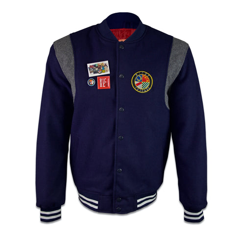 "Riche Threads ""Blue Berry"" Varsity"