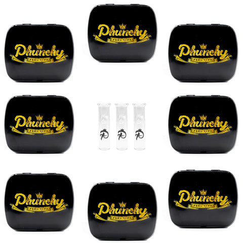 8mm CLEAR 24 PACK Phuncky Logo (Round)