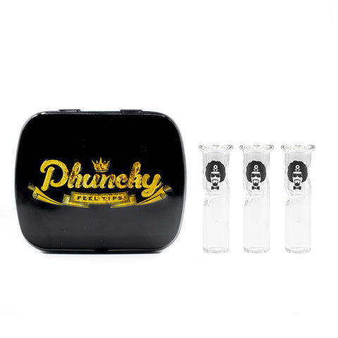 8mm CLEAR 3 PACK Dr.Greenthumb Logo (Round)