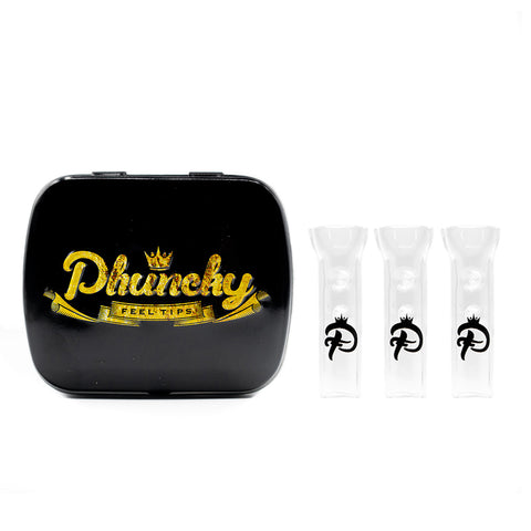 Phuncky Logo 3 Pack (Classic Flat) + Collectors Tin