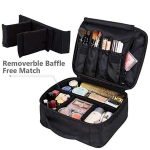 MOC™: Portable Travel Makeup Case Organizer