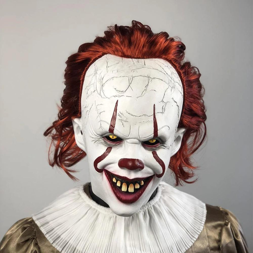 IT Deluxe Pennywise Mask - 2019 Version