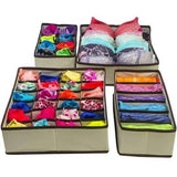 CONET™: Foldable Closet Underwear Organizer (4Pcs/Set)