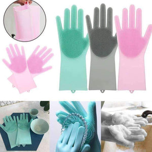 SCRUB™: Magic Multifunction Silicone Gloves
