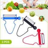 Magic Trio™ Peeler [Set of 3] - Vegetables Peeling Master