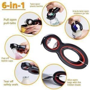 6-in-1 Multi-Functional Opener (New 2019 Upgraded)