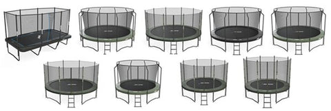 Free delivery for all trampoline packages