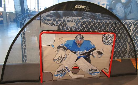 ACON Wave B183 -Backstop net with goal and goalie