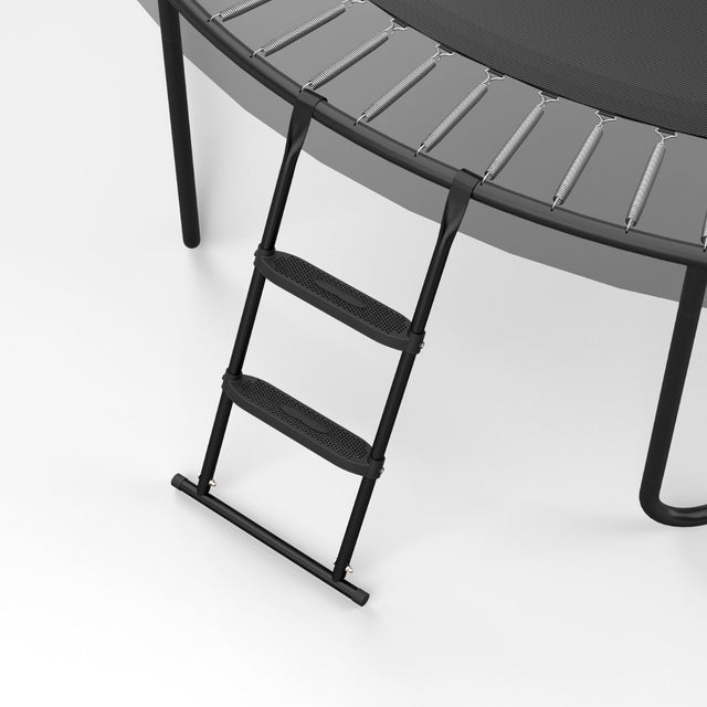 2-step trampoline ladder