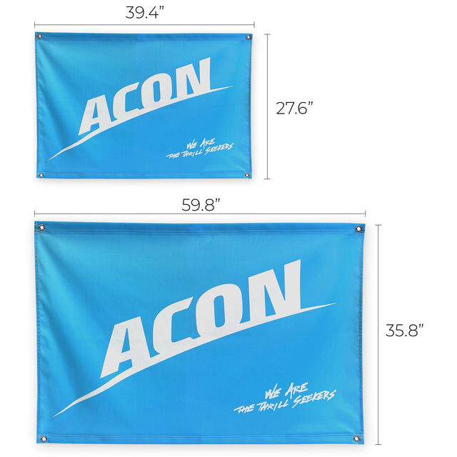ACON Flag sizes small and large