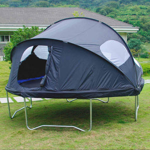 Trampoline Tent on a trampoline