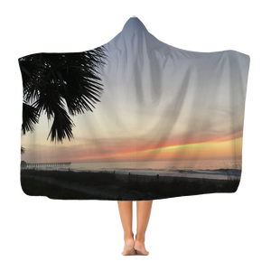 MYRTLE BEACH Classic Adult Hooded Blanket