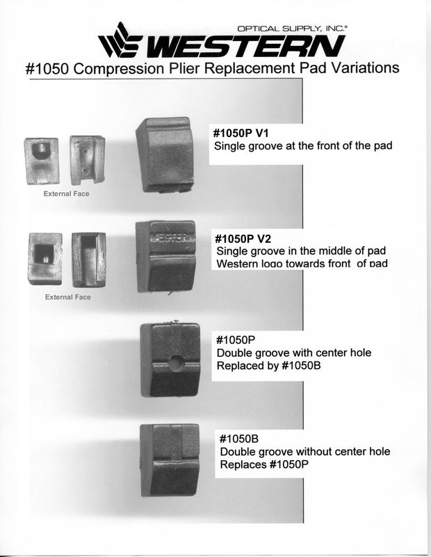 Replacement Parts #1010 – #1050