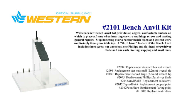 Bench Anvil Kit #2101