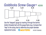 Goldilocks Screw Gauge™ #2059