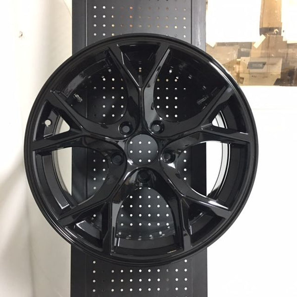 "17"" Type R Style Gloss Black Rims Wheels Fits Honda Civic SI New"