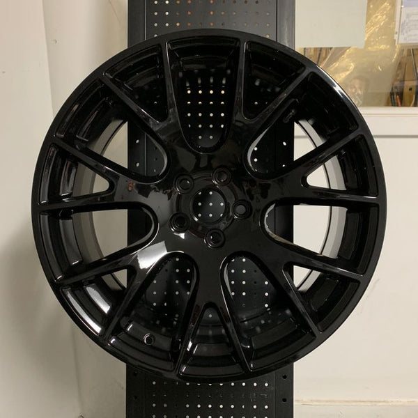"20"" Hellcat SRT Style Gloss Black Wheels Rims Fits Dodge Charger Challenger"