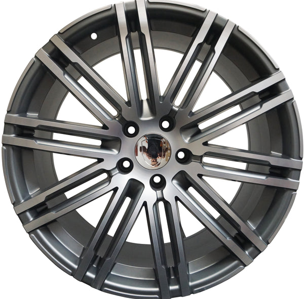 21 INCH RIMS FIT PORSCHE CAYENNE MACAN MODELS GTS TURBO BASE WHEELS