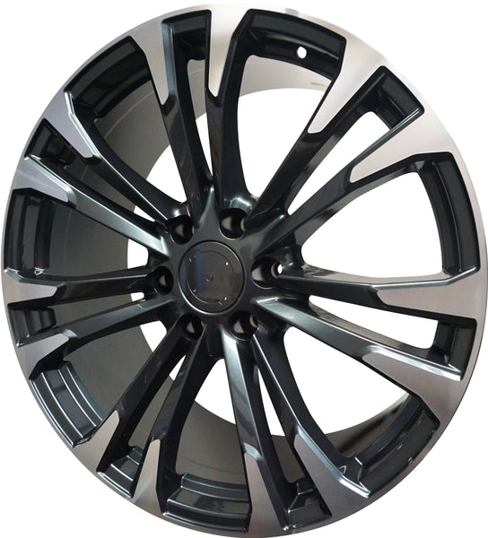 "22"" GMC/Chevy Tahoe Sierra Denali Wheels Silverado Suburban Yukon 2018 Machined Rims"