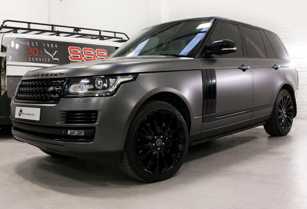 24 Inch Rims Range Rover Autobiography Sport LR3 LR4 & HSE Supercharged Wheels Gloss Black