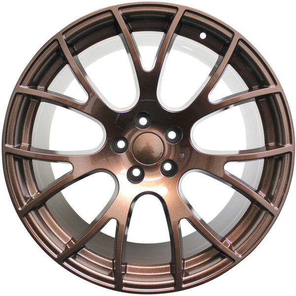 "20"" Dodge Charger Challenger Magnum Hellcat Rims BRONZE EDITION"