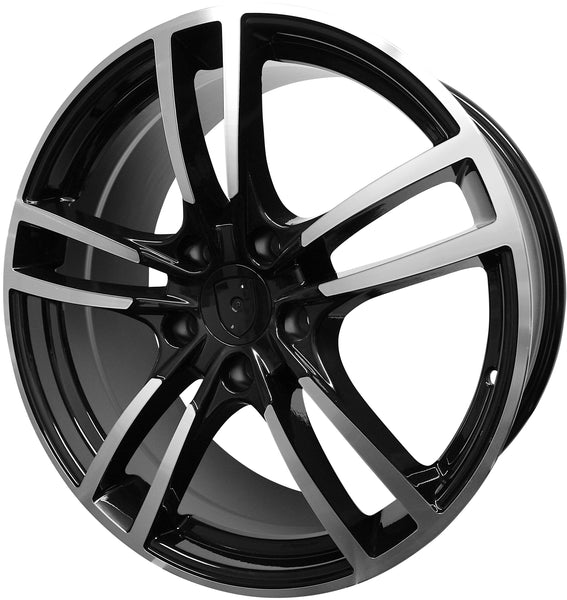 20 Inch Rims Fits Porsche Panamera Turbo S GTS Base Staggered Turbo 2 Wheels