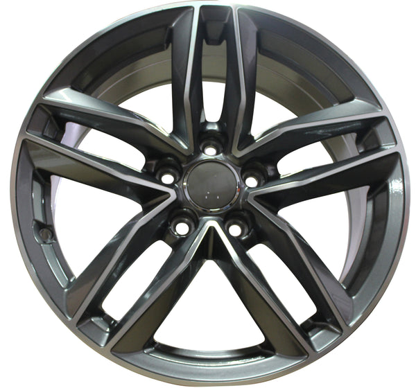 17 inch wheels Audi A3 A4 A5 S3 S4 S5 Gunmetal Machined rims
