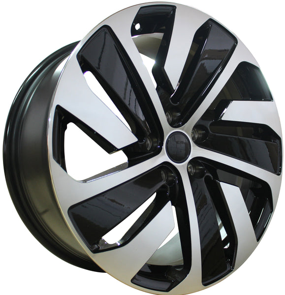 18 Inch Rims Fits Volkswagen VW Golf GTI Jetta Passat 5X112 R32 Detroit Wheels