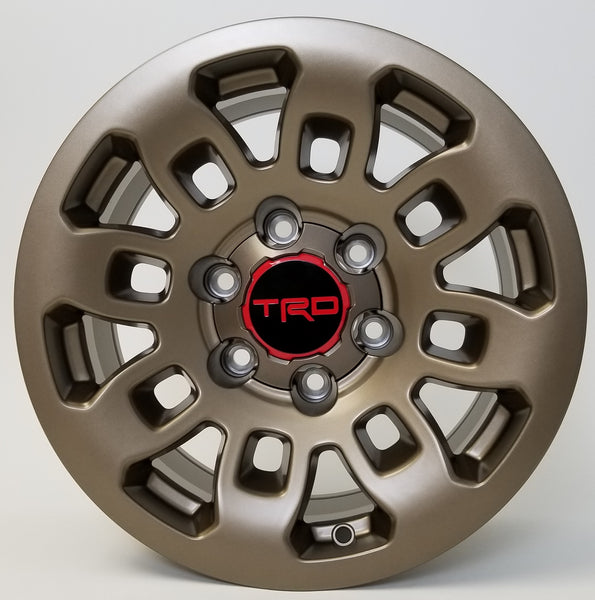 20 Inch Toyota TRD Style Rims Fit 4Runner FJ Cruiser Tacoma Fortuner Wheels