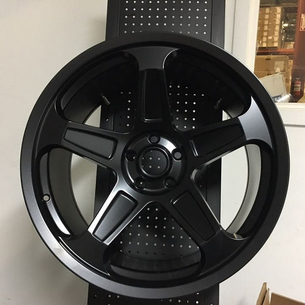 "20"" Demom SRT Style Matte Black Wheels Rims Fits Dodge Charger Challenger"