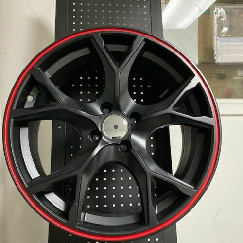 "17"" Type R Style Black Wheels Rims Fits 4X100 4 Lug 1980-2005 Honda Civic"