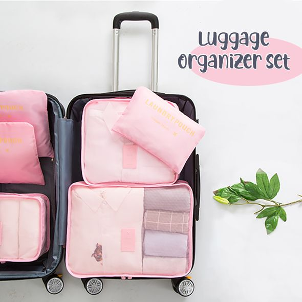 6 PC Luggage Organizer Set