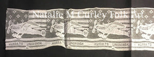 1927 Charles Lindberg Transatlantic Flight Plane Folk Art LACE